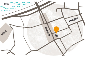 Plan Standort Linz